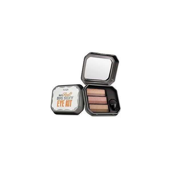 Benefit Cosmetics  They're Real! Big Sexy Eye Kit Beyond Easy Eye... ($36) ❤ liked on Polyvore featuring beauty products, makeup, eye makeup, eyeshadow, benefit kit, benefit eyeshadow, benefit eye shadow, benefit eye makeup and palette eyeshadow
