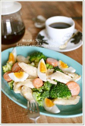 鶏むね肉とブロッコリーの温サラダ by 鈴木美鈴 [クックパッド] 簡単 ...