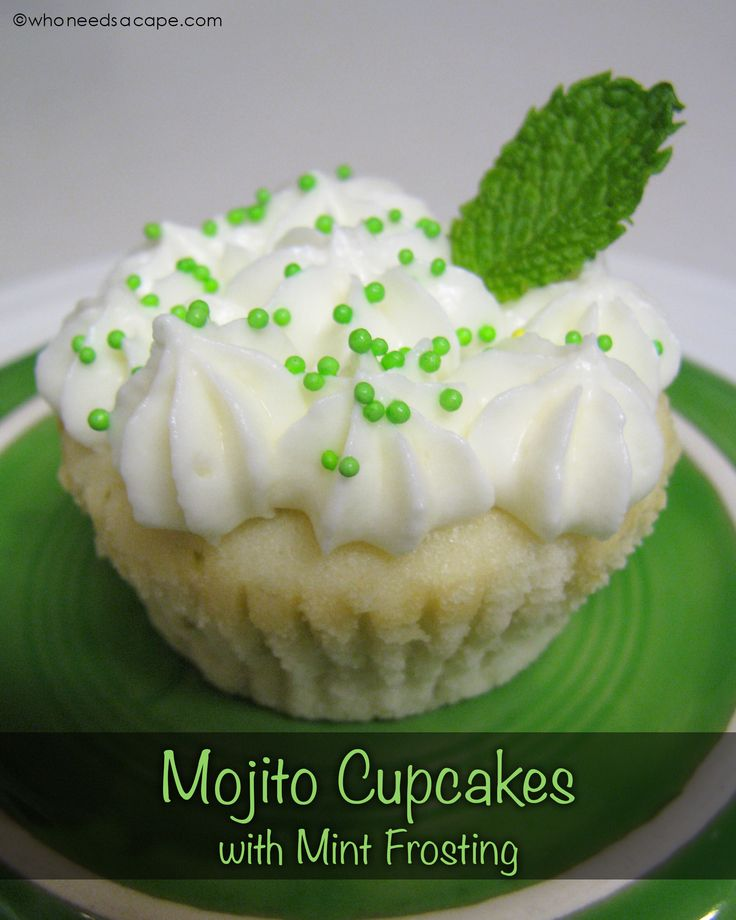 ... Mojito Cupcakes on Pinterest | Cupcake, Mojito and Cupcake Recipes