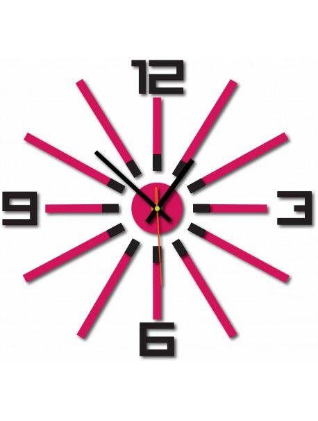 3D кольорові настінні годинники WARRAS, колір: чорний, рожевий Артикул  X0032-RAL9005-RAL4003 Стан:  Новий товар  Наявність:  In Stock  Прийшов час для змін! Прикрашати годинник оживити будь-який інтер'єр, підкреслити чарівність і стиль вашого простору. Їх тепло в корпус з новим годинником. Настінний годинник з оргскла є чудовою прикрасою вашого інтер'єру.