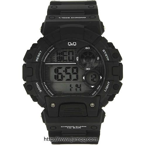 Produk jam tangan Q&Q M144j001Y digital original dengan warna dominan hitam dan memiliki desain sport. Kualitas jam tangan digital ini memiliki ketahanan air atau water resistant 100 meter kedalaman air, sehingga dapat anda gunakan untuk memenuhi hobby olahraga atau aktifitas outdor anda seperti…