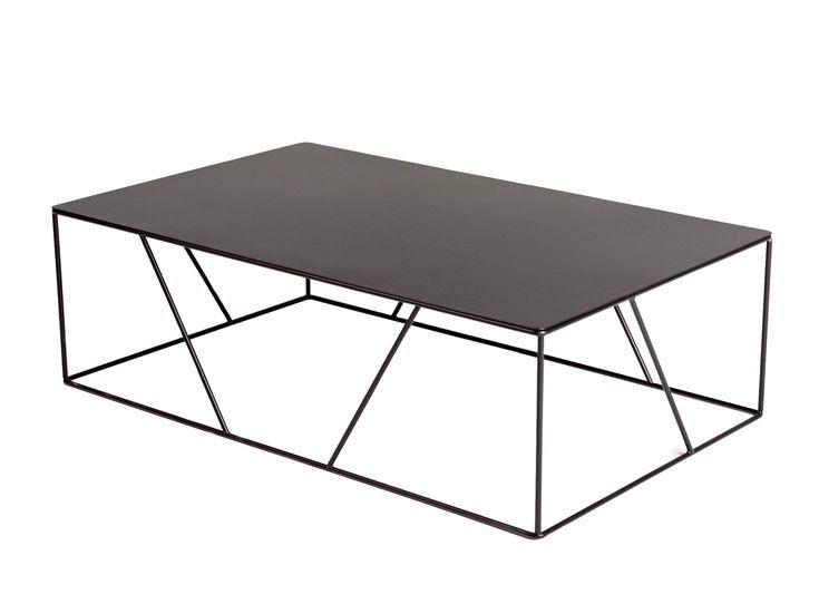 Low coffee table by VIDAME CREATION design Julien Vidame