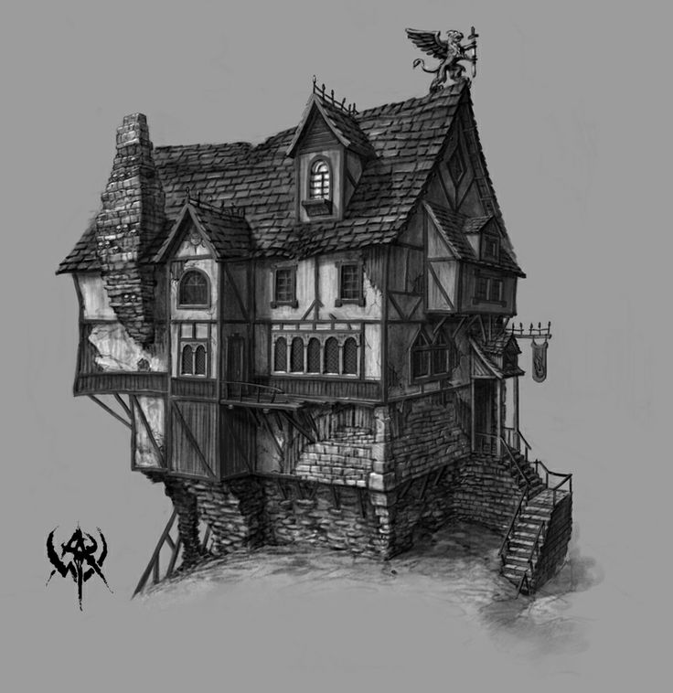 21 best warhammer enviro images on pinterest fantasy for Fantasy house plans