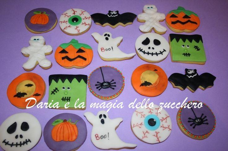 #Biscotti Halloween #Halloween cookies #Halloween