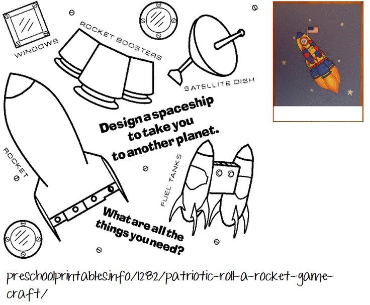 Rocketshipprintable.gif 918×758 Pixels