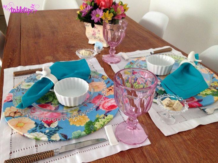 Flores coloridas (com receita!) [http://www.tabletips.com.br]