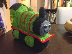 Hey, folks! If you have a train loving kiddo like I do, today's pattern is for you. Max is a Thomas the Train fanatic, but Thomas has never ...