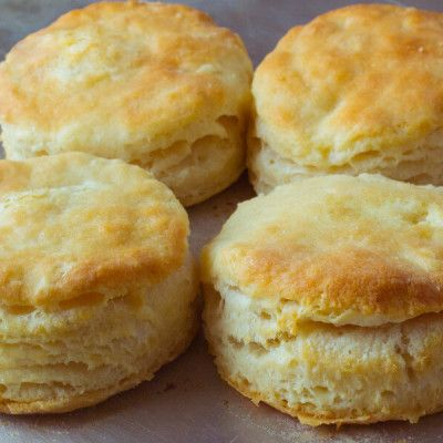 Grandma's Flaky Buttermilk Biscuits