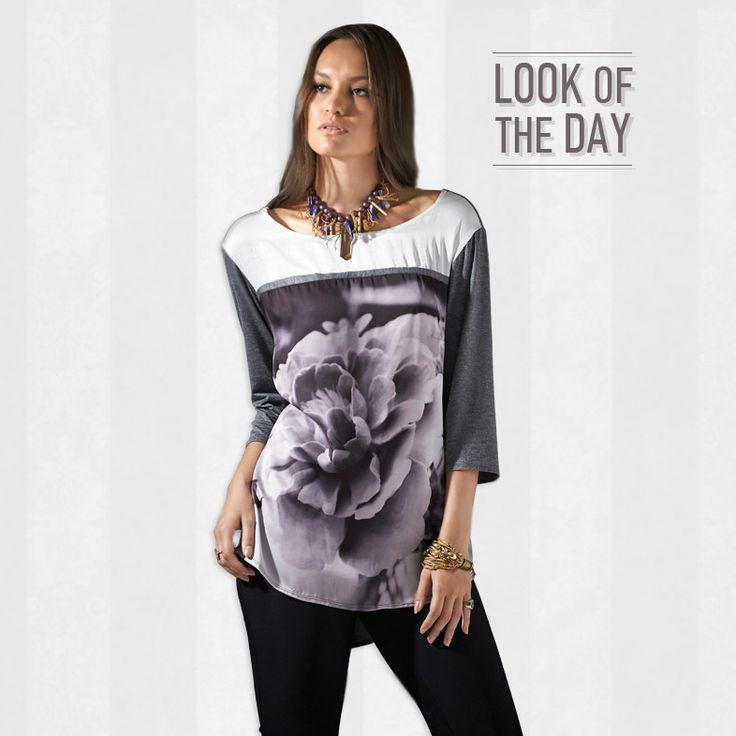Look of the day! Ρούχα με στυλ για όλες!  Δείτε όλη την συλλογή εδώ: http://www.vener.gr/gr/syllogh-royxon.asp