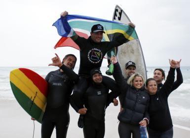 South African surfer breaks world record for longest surf session: Guinness World Record breaker Josh Enslin