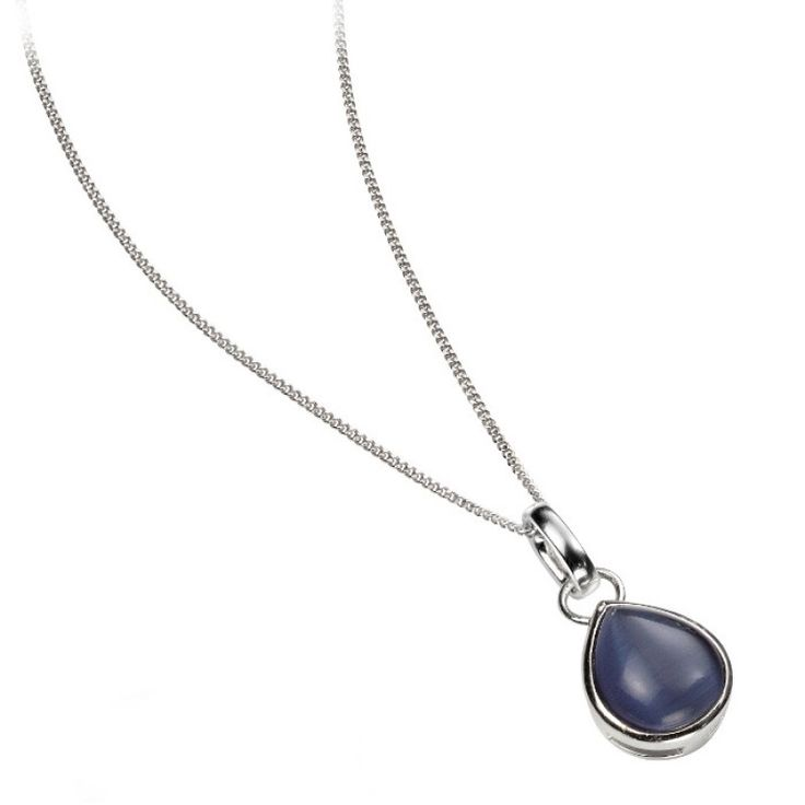 Teardrop Stone Pendant #Catherinejones #cambridge #necklace #bracelet #pearls #jewellery #trends