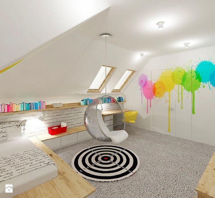 Pokój nastolaki - zdjęcie od 4ma projekt - Pokój dziecka - Styl Nowoczesny - 4ma projekt