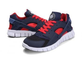 Cheap Nike Huarache Free Mens Run Trainers Size UK 11 LE Black / Red Sale UK -Nike Huarache Free