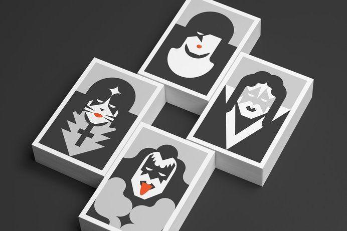 Illustration / Kiss illustrations