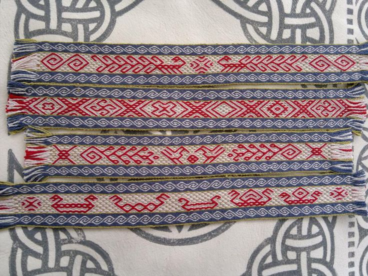 Missing hole tablet woven by Randi Stoltz