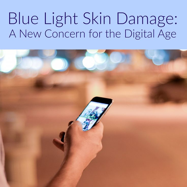 Another reason to be wary of excessive smartphone use: skin damage caused by blue light. In a study at a university in Berlin, researchers found that blue light decreases carotenoids in the skin. T…