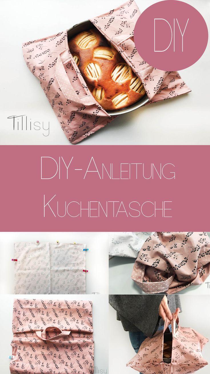 DIY – Kuchentasche einfach erklärt. Wir zeigen dir in einfachen Schritten, wie du deine Kuchentasche einfach nähen kannst. Eine super DIY-Idee für Geburtstage. Schau bei Tillisy vorbei! #handmade