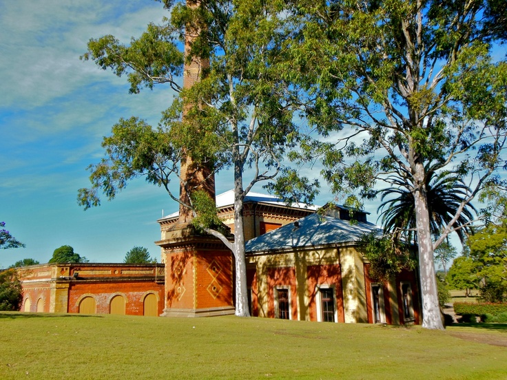 Walka Water Works, Oakhampton Heights, near Maitland, NSW - (1887) Victorian industrial architecture at its best (beautiful picnic grounds surround it, but building not open)