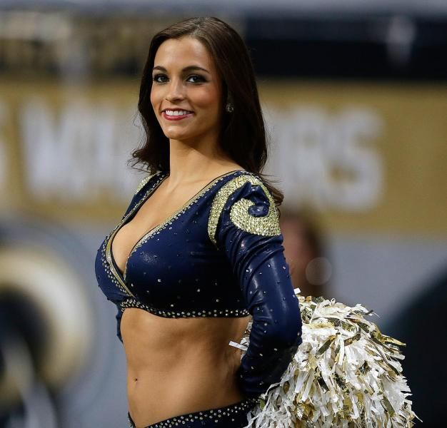 St Louis Rams Cheerleader Well Look Who I Found