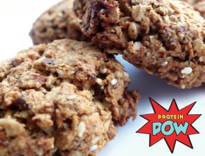 Anzac Protein Biscuits - Protein Pow