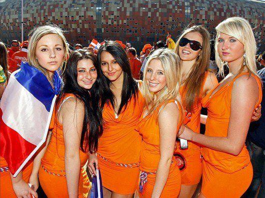 Sexy tifose olanda, euro 2012