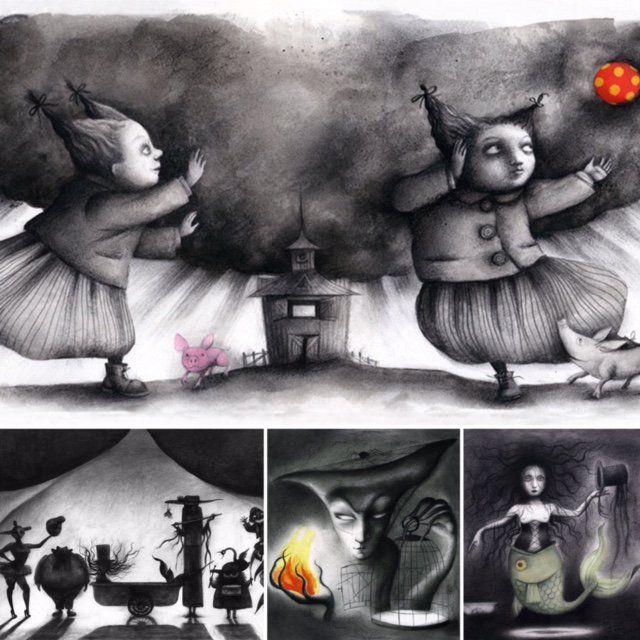 En 'Circus' el lado oscuro se materializa y baila. Puede ser una metáfora o una simple historia de vivos y fantasmas http://bit.ly/2v73xzW
