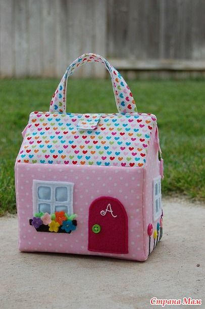 Страна Мам | Doll Houses Purses [template included]