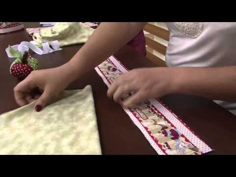 Mulher.com 08/05/2015 Edileny Gomes - Touca cozinheiro em tecido Parte 2/2 - YouTube