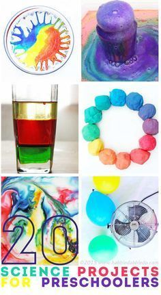 The best science projects and experiments for preschoolers. Fun activities for kids!