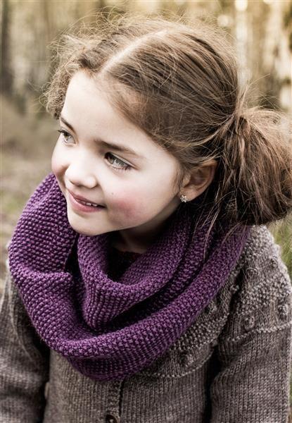 1409: Modell 2 Hals og pulsvanter #SmartGarn #strikk #knit