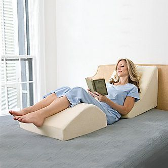 leg and bed wedge leg cushions circulation therapy