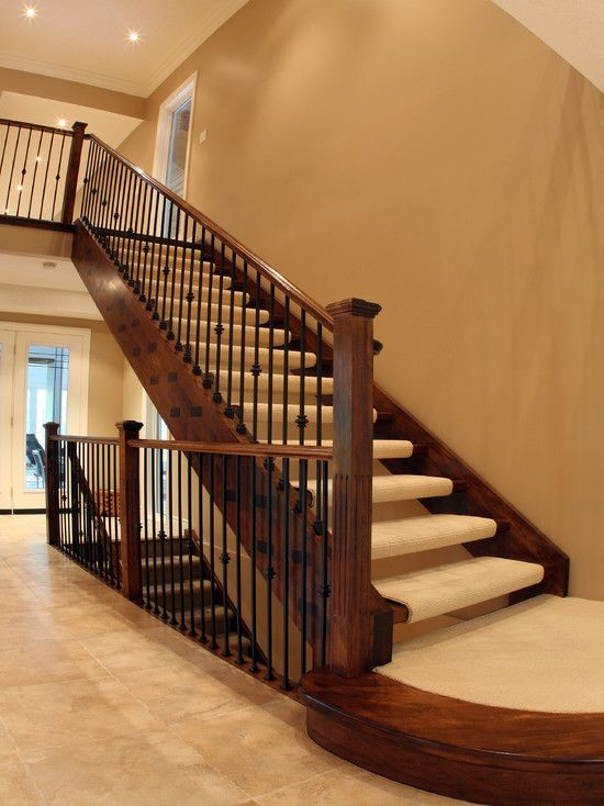 Wrought Iron Banister Design, Pictures, Remodel, Decor And Ideas   Page 4 ·  Staircase IdeasStaircase DesignOpen ...