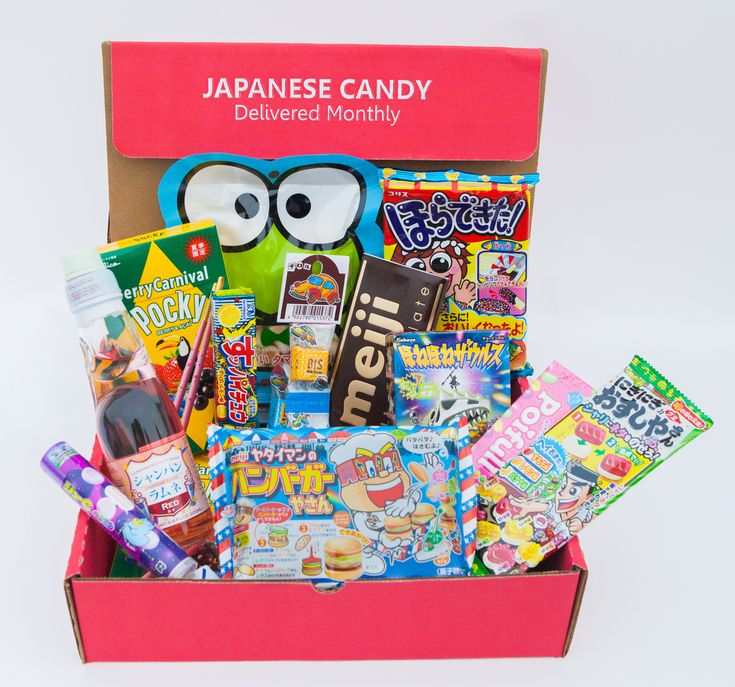 Japan Crate Is A Monthly Subscription Service That Sends Crazy And Fun Japanese Candy Snacks And Diy Kits To You Every Month