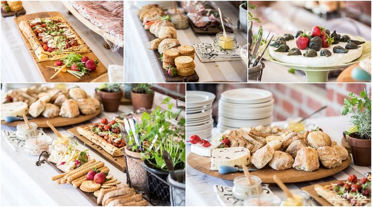 A lovely feast table done by Linda Bruyns from Heart Worx Catering