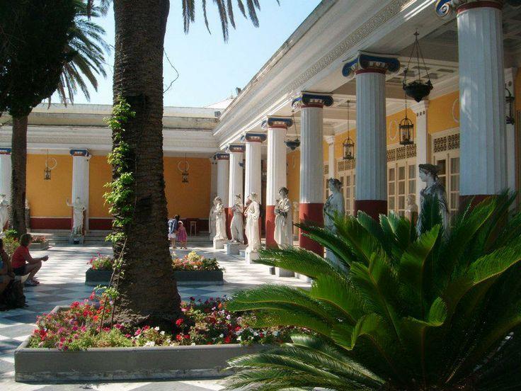 Achillion Corfu Greece