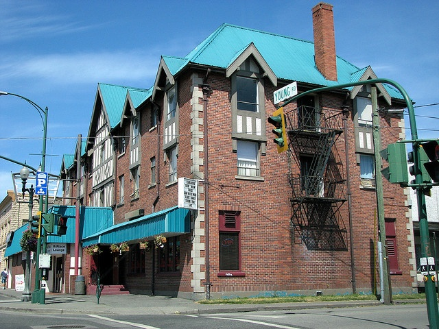 Empress Hotel - built in 1908 Chilliwack... this grand old lady is now a gravel parking lot.  So sad not to see her on my last visit