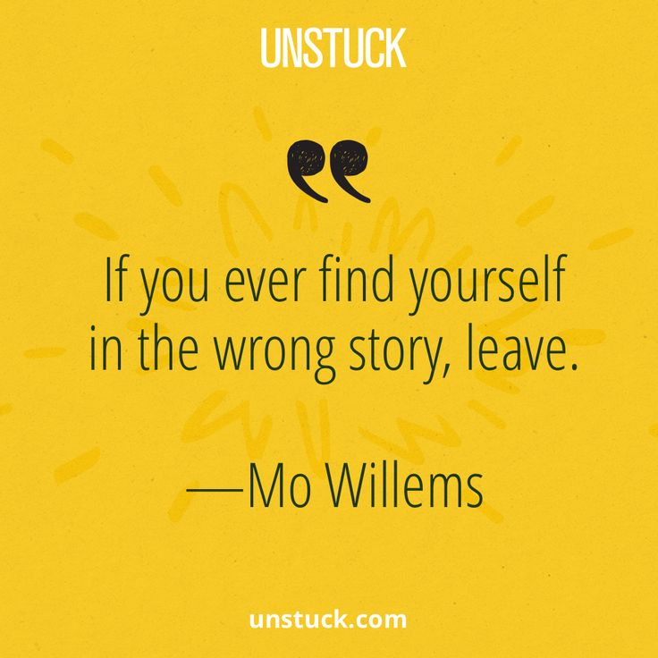 Live your own story.