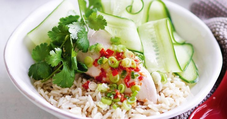 Hainanese Chicken Rice Recipe Rice Sauces And Homemade