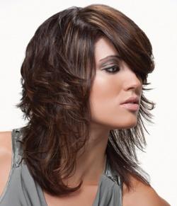 Make-over halflang haar