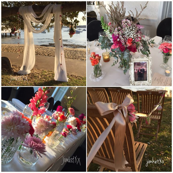 Floral love wedding centerpiece and wedding ceremony styling