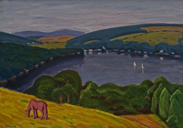 Artist: John  Lyman, Title: Lake Massawippi - click to close window