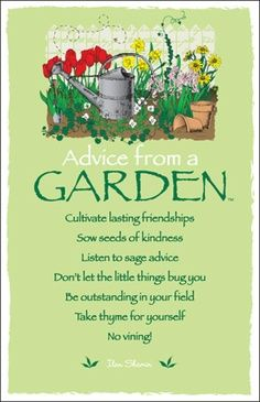 36 Best Garden Signs Quotes Sayings Images On Pinterest