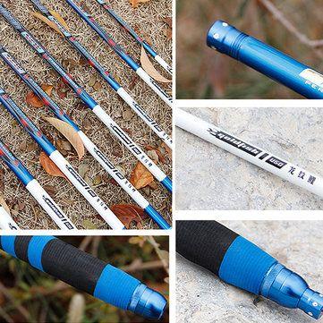 ZANLURE LW-01 Full Carbon Fiber Ultra-light Ultra Hard 28 Stream Hand Pole Taiwan Fishing Rod Sale - Banggood.com