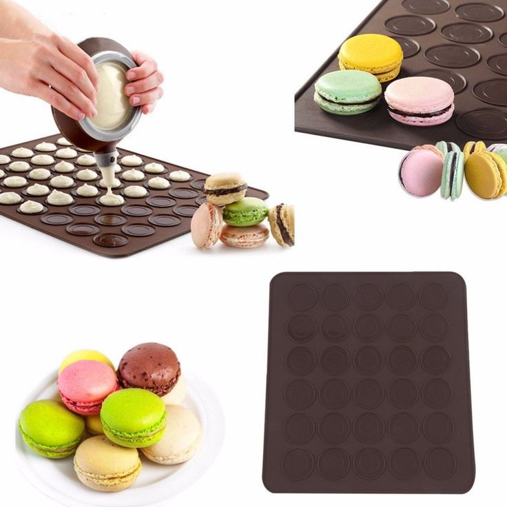 Large Silicone Pastry Tray For 30 Macaroons – Big Star Trading Store