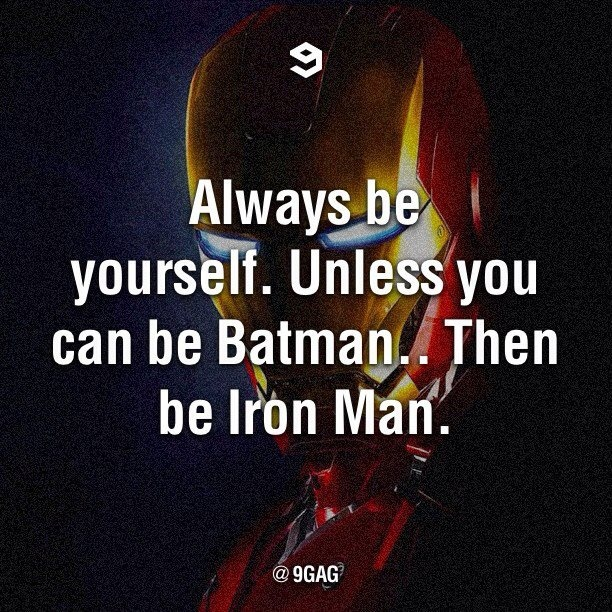 Iron man is my favorite