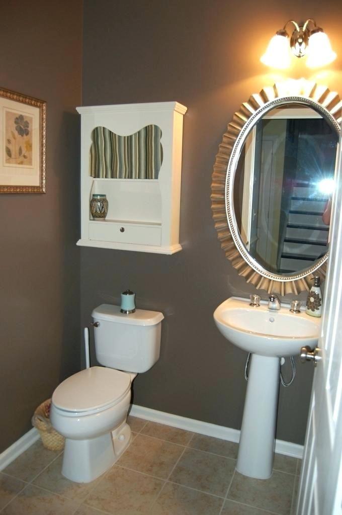 Dark Paint In Small Bathroom Bathroom Small Bathroom Colors Bathroom Colors Bathroom Paint Colors