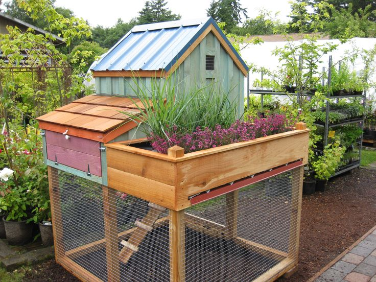 Gallery gardens salts and herbs garden for Cute chicken coop ideas