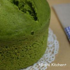 ホットケーキミックスで抹茶ケーキ@炊飯器 by アイスチョコ