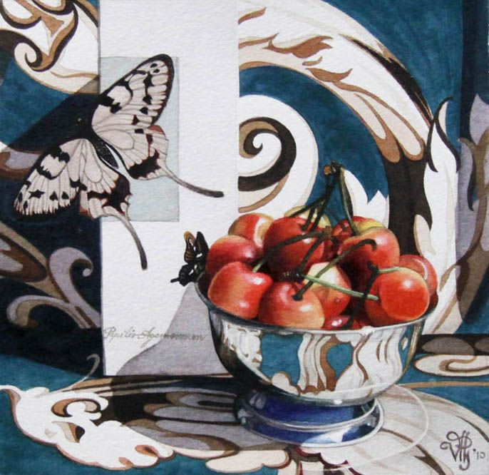 'Signs of Spring' by Vivian Thierfelder at Mayberry Fine Art
