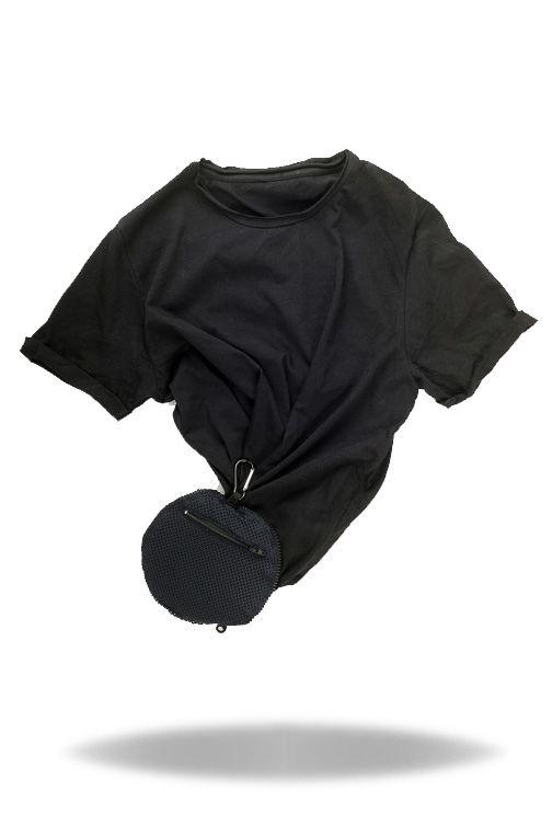 Transforming the t-shirt. #tgh24 #tshirt #pochette #metamorphosis